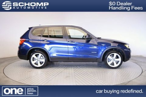 Certified Pre-Owned 2017 BMW X3 xDrive35i With Navigation & AWD