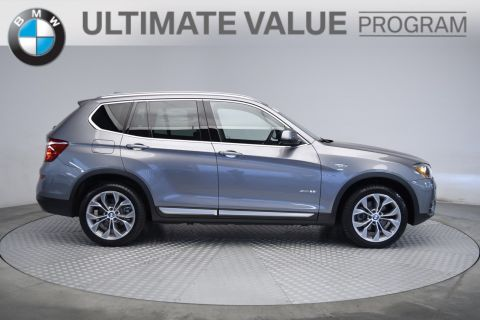 Certified Pre-Owned 2017 BMW X3 xDrive28i With Navigation & AWD