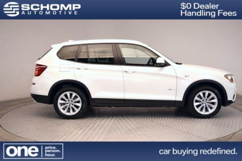 Certified Pre-Owned 2015 BMW X3 xDrive28i With Navigation & AWD