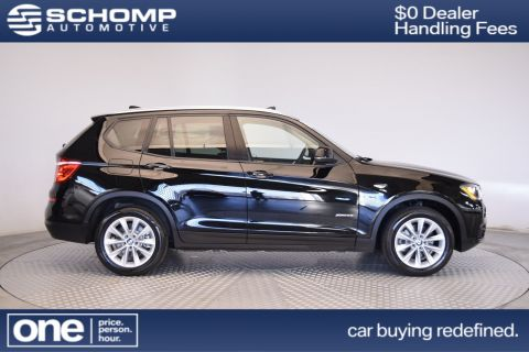 Certified Pre-Owned 2017 BMW X3 xDrive28i AWD