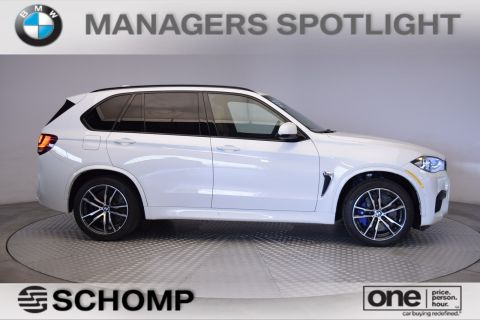 New 2017 BMW M Model X5 M With Navigation & AWD