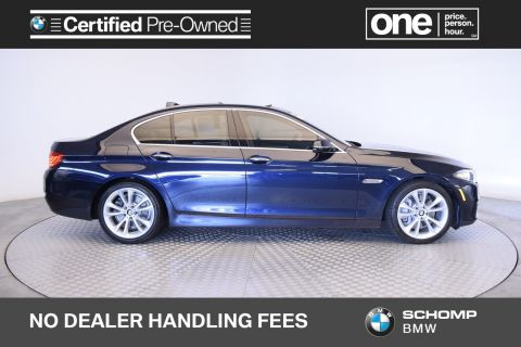 Certified Pre-Owned 2015 BMW 5 Series 535i xDrive With Navigation & AWD