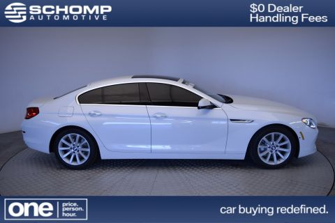 Certified Pre-Owned 2015 BMW 6 Series 640i xDrive With Navigation & AWD