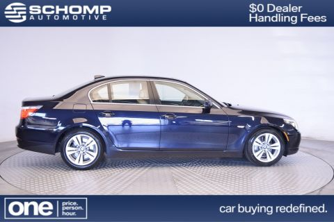 Pre-Owned 2009 BMW 5 Series 528i RWD 4dr Car
