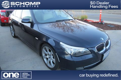 Pre-Owned 2008 BMW 5 Series 535i With Navigation
