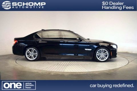 Certified Pre-Owned 2015 BMW 7 Series 750Li xDrive With Navigation & AWD