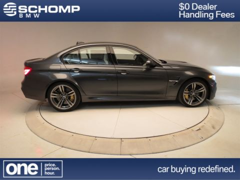 New 2017 BMW M3 Sedan With Navigation