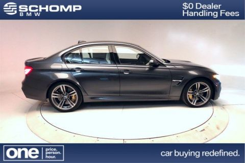New 2017 BMW M Model M3 Sedan With Navigation