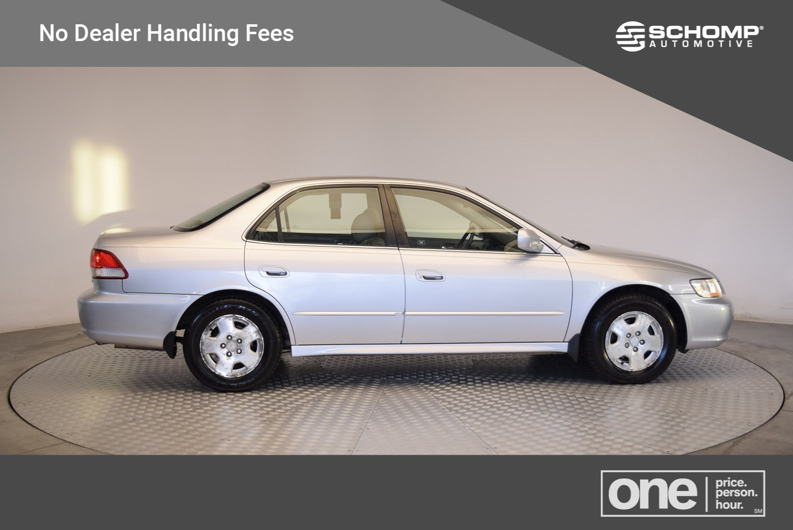 Pre Owned 2002 Honda Accord Sdn EX W/Leather