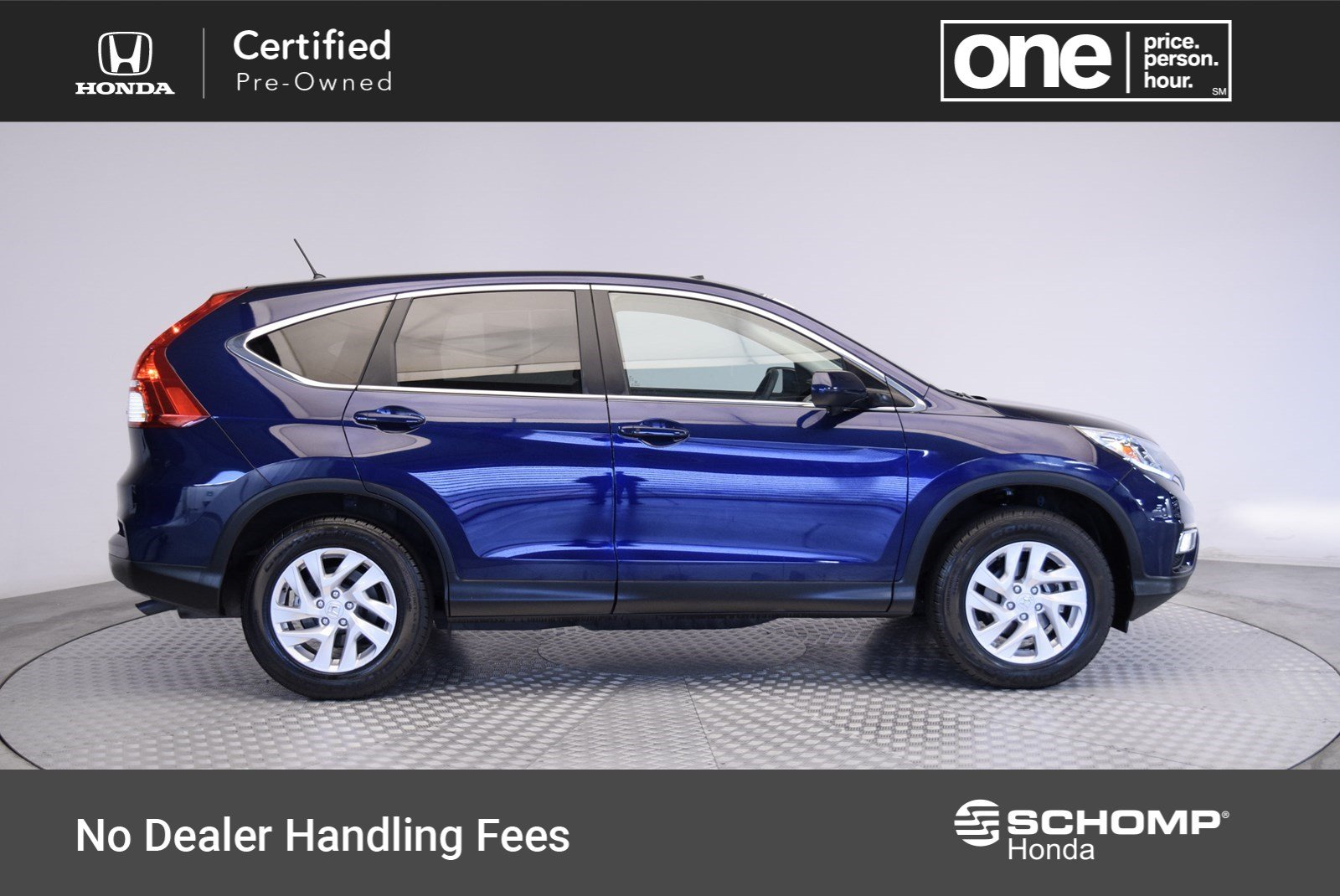 High Quality Certified Pre Owned 2015 Honda CR V EX