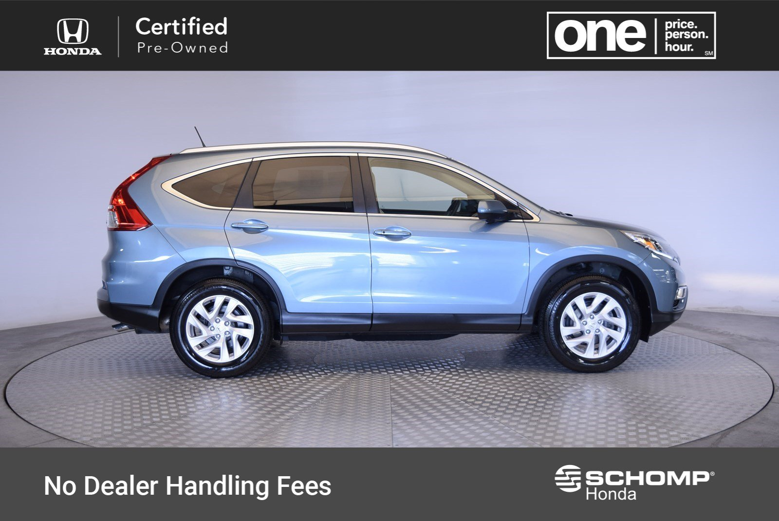 Captivating Certified Pre Owned 2015 Honda CR V EX L