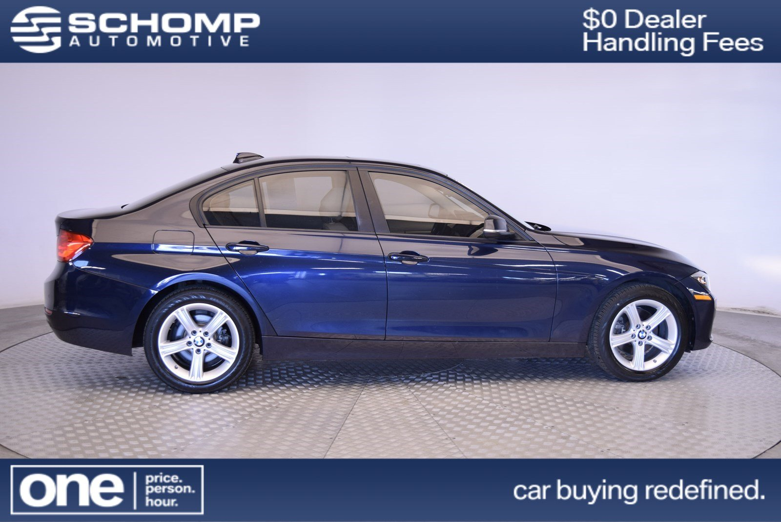 Certified Pre-Owned 2014 BMW 3 Series 328i xDrive