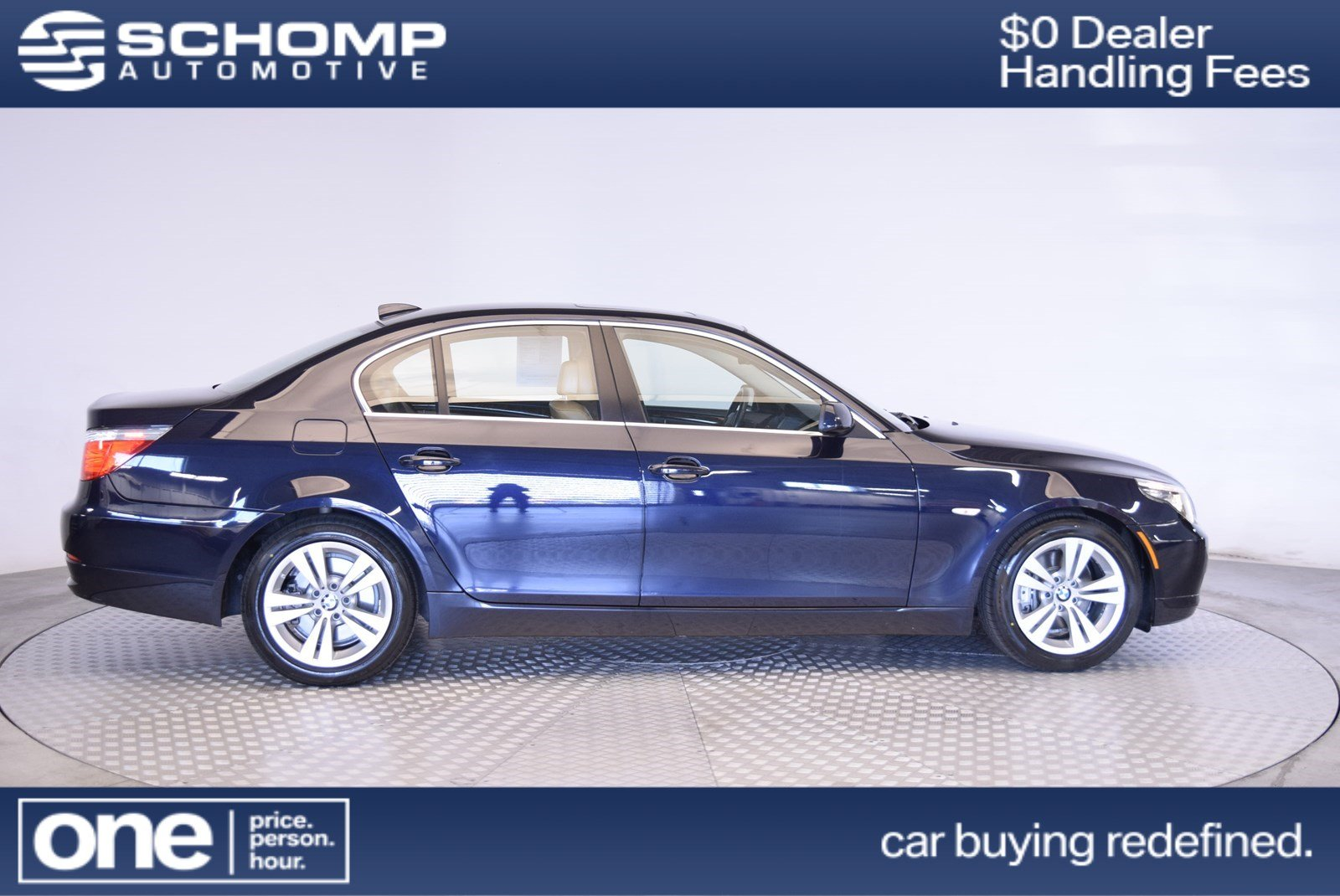 Pre-Owned 2009 BMW 5 Series 528i
