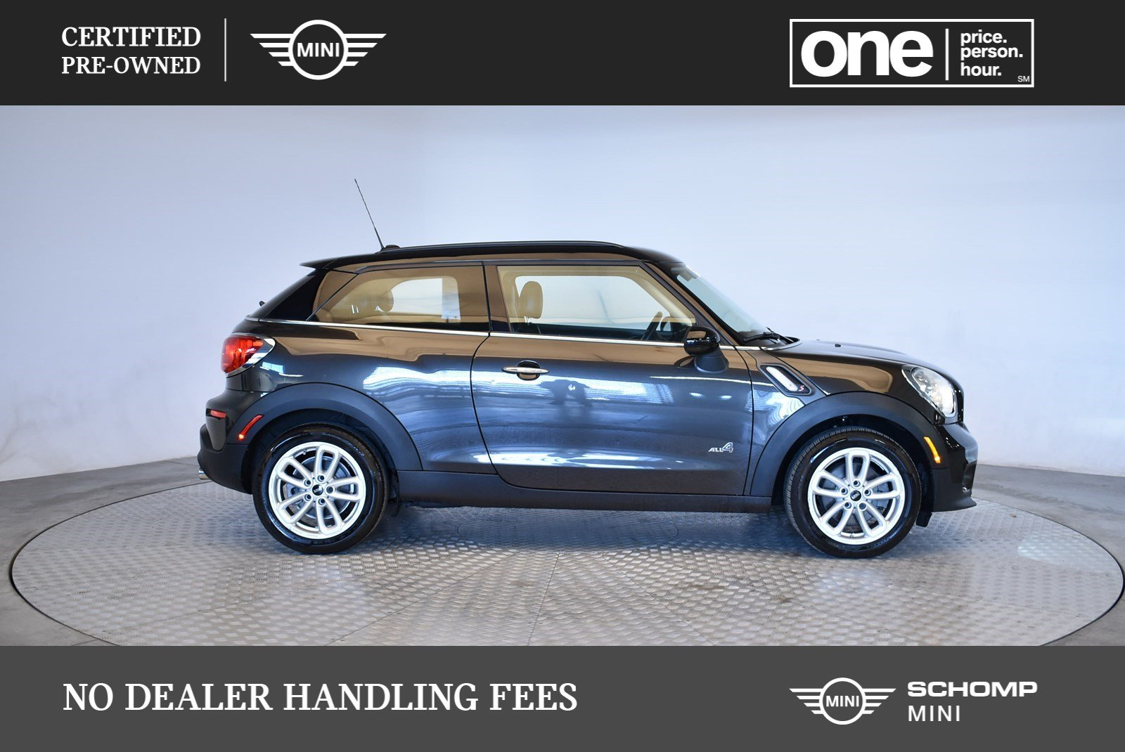 Certified Pre Owned 2017 Mini Cooper Paceman S