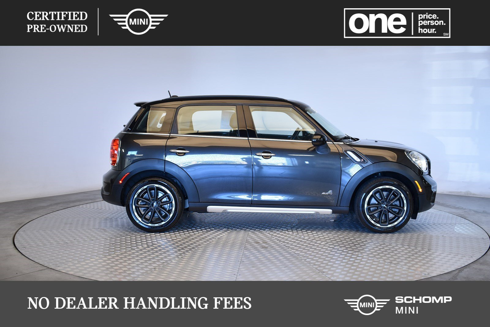 Certified Pre Owned 2016 Mini Cooper Countryman S