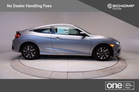 New 2018 Honda Civic Coupe LX P