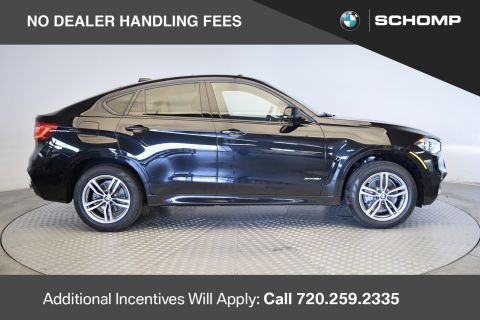 New 2018 BMW X6 X6 xDrive35i